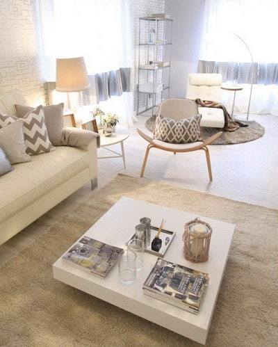 30 Ultra Neutral Living Room Design Ideas_27