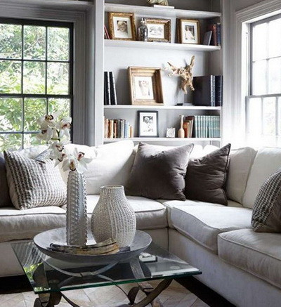 30 Ultra Neutral Living Room Design Ideas_28