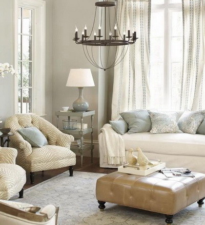 30 Ultra Neutral Living Room Design Ideas_29
