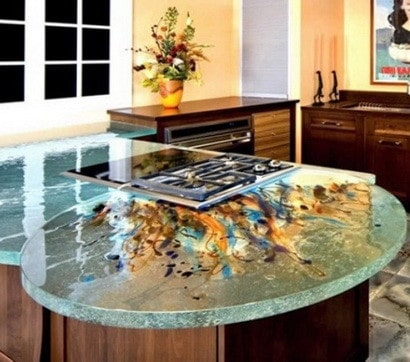 35 kitchen countertop unique options and ideas for Kitchen countertops ideas 2015