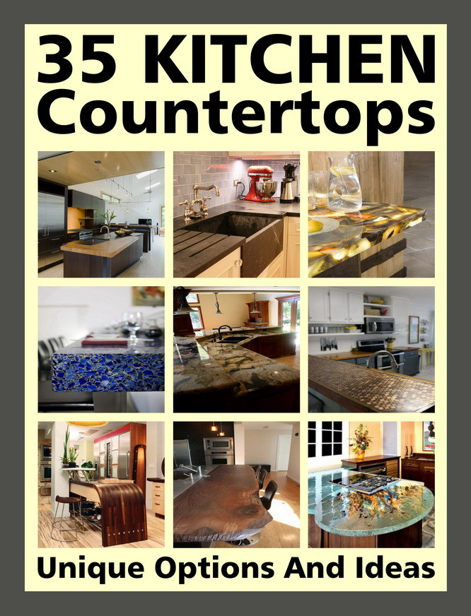 35 kitchen countertop ideas