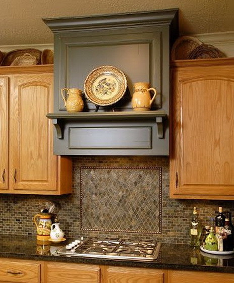 Kitchen Wood Ideas: 40 Kitchen Vent Range Hood Designs And Ideas