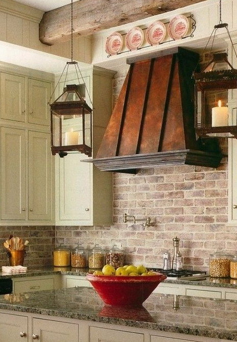 Exceptional Kitchen Range Hood Design Ideas Part   4: ... 40 Kitchen Vent Range  Hood Design Ideas_07 . Part 91