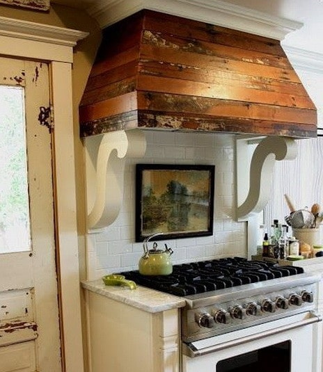 ... 40 Kitchen Vent Range Hood Design Ideas_09 ...