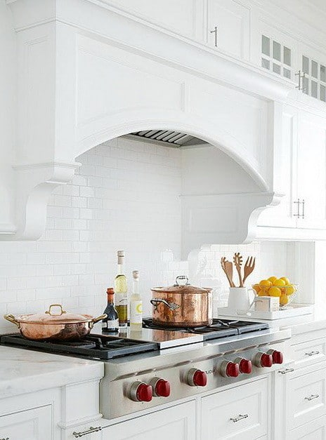 ... 40 Kitchen Vent Range Hood Design Ideas_21 ...