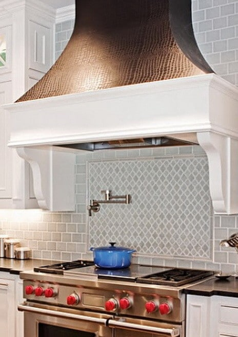 ... 40 Kitchen Vent Range Hood Design Ideas_22 ...
