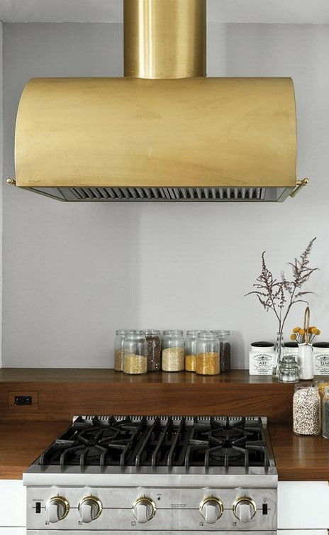 Kitchen Range Hood Design Ideas covered range hood ideas kitchen inspiration 40 Kitchen Vent Range Hood Design Ideas_23