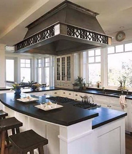 ... 40 Kitchen Vent Range Hood Design Ideas_27 ...