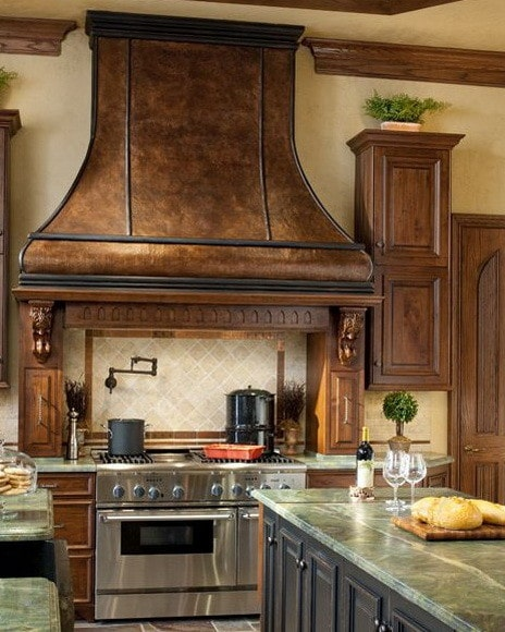 40 kitchen vent range hood designs and ideas for Vent hoods for kitchens
