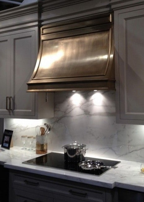 ... 40 Kitchen Vent Range Hood Design Ideas_34 ...