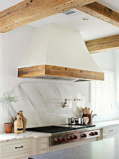 40 Kitchen Vent Range Hood Design Ideas_35