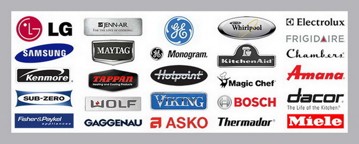 List Of Appliance Brands For Parts Warranty Manuals And