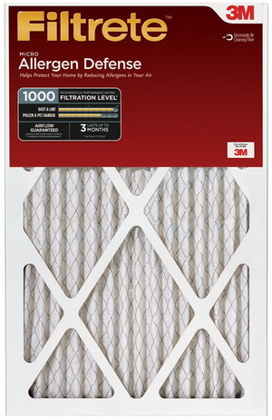 Filtrete Micro Allergen Defense AC Air Filter