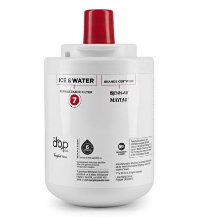 how to change refrigerator water filter maytag