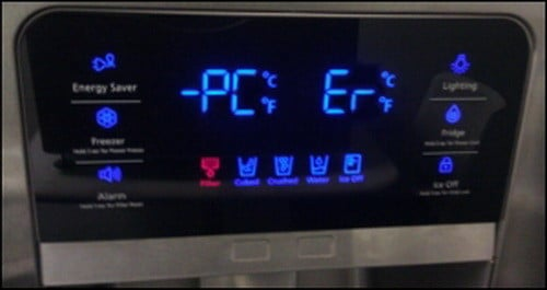 Samsung Refrigerator Error Fault Codes How To Reset