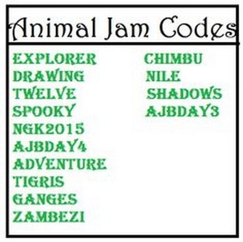 Animal Jam Codes - Gems and Diamonds and Birthday Cakes