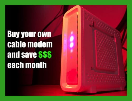 buy cable modem do not rent