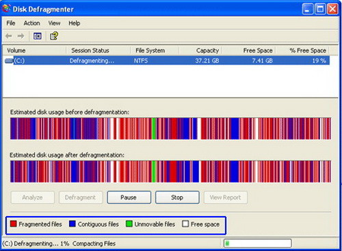 the importance of disk defragmentation in computer maintenance