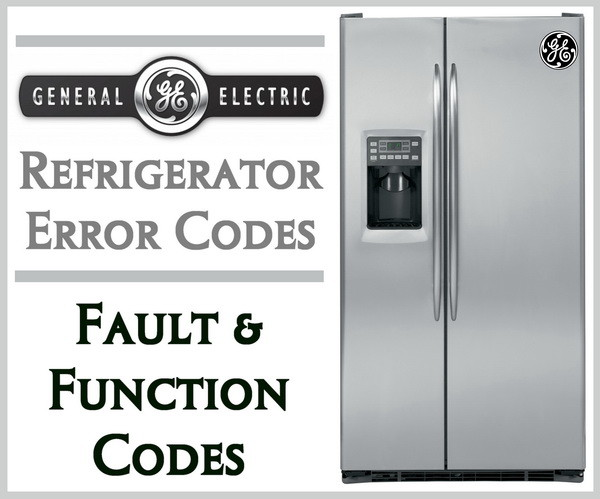 GE fridge error codes