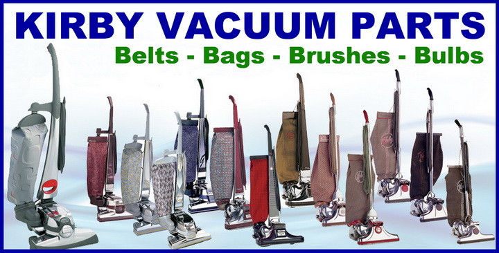 kirby vacuum replacement parts - bags belts brushes