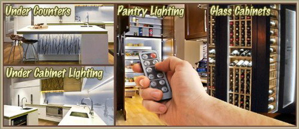 led lights with remote