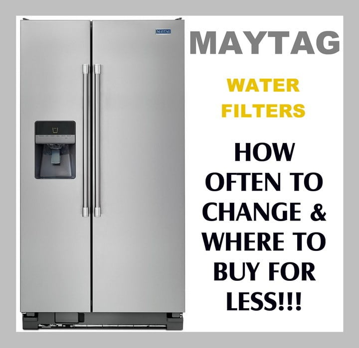 Maytag Refrigerator Water Filters How Often To Replace Filter