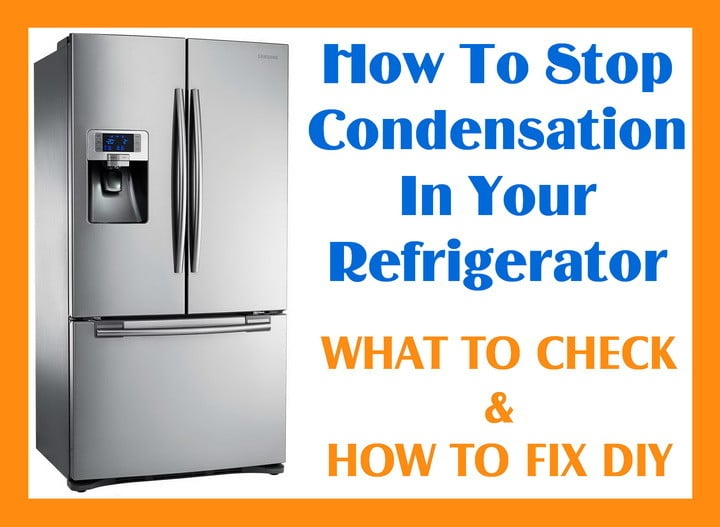 How to stop condensation in your refrigerator us3 Can you put hot food in the refrigerator