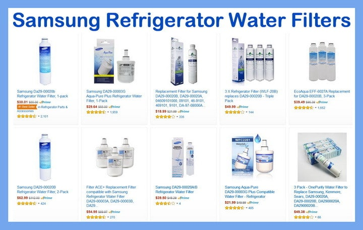 Samsung Refrigerator Water Filters How Often Should I Replace My