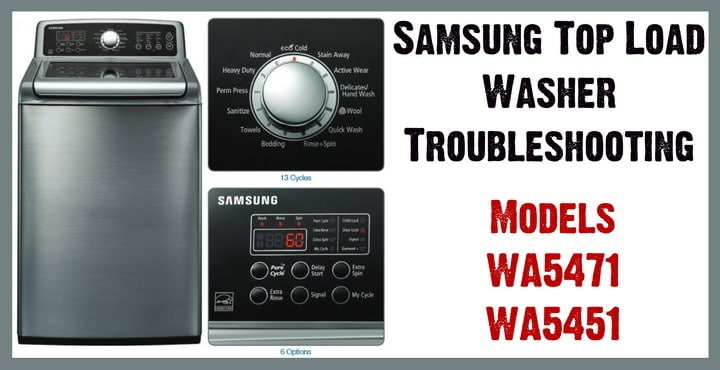 samsung top load washer troubleshooting samsung top load washer model wa5471 wa5451 troubleshooting wiring diagram for samsung vrt washer at bayanpartner.co