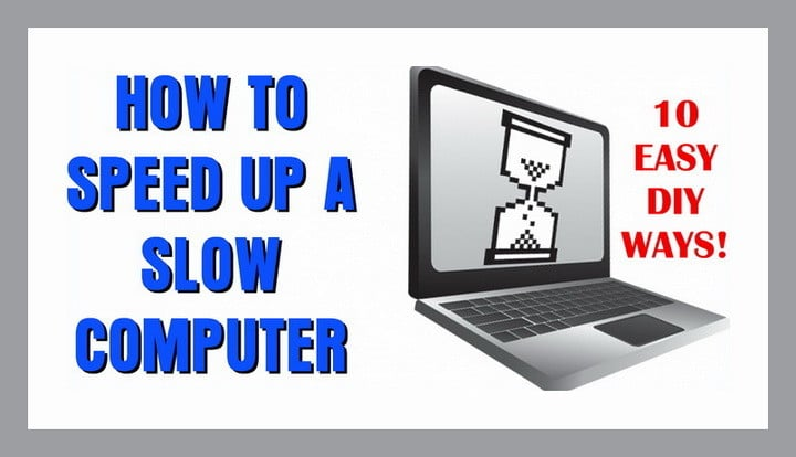 how to make old windows 7 laptop faster