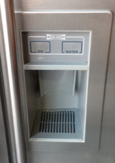 Diy Sub Zero Refrigerator Icemaker Repair Fridge Front Display Dispenser