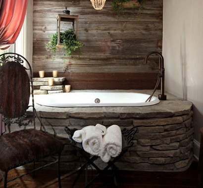 30 bathroom design ideas made from stone_01