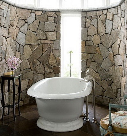 30 bathroom design ideas made from stone_07