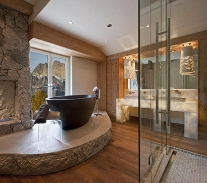 ... 30 Bathroom Design Ideas Made From Stone_09 ...