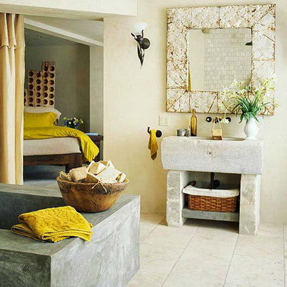 30 bathroom design ideas made from stone_13