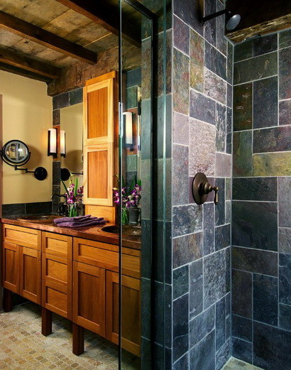 30 bathroom design ideas made from stone_18