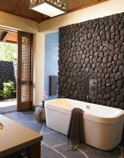 30 bathroom design ideas made from stone_19