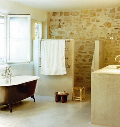 30 bathroom design ideas made from stone_20