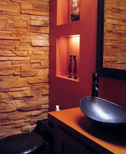 30 bathroom design ideas made from stone_23