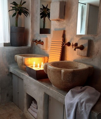 30 bathroom design ideas made from stone_26