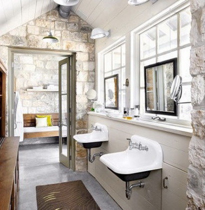30 bathroom design ideas made from stone_27