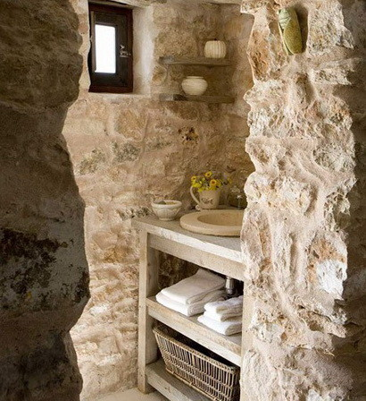 30 bathroom design ideas made from stone_30