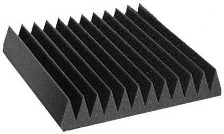 Acoustic Wedge Studio Soundproofing Foam Wall Tiles