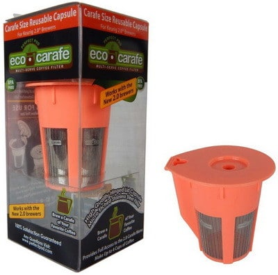 Eco-Carafe for Keurig 2.0, K200, K300, K400, K500 Series