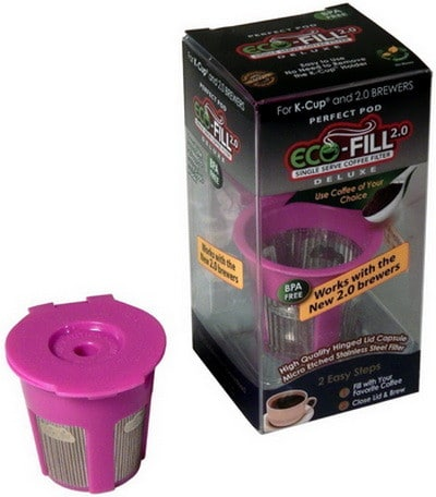 Eco-Fill 2.0 Deluxe for Keurig 2.0, K200, K300, K400, K500 Series