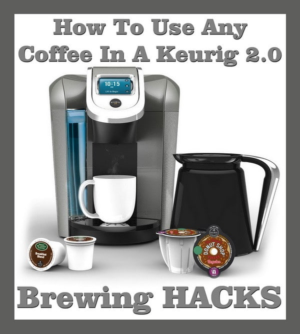 How To Brew Any Coffee In A Keurig HACK