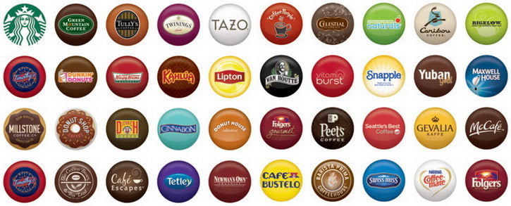 Keurig Coffee Types K-Cups