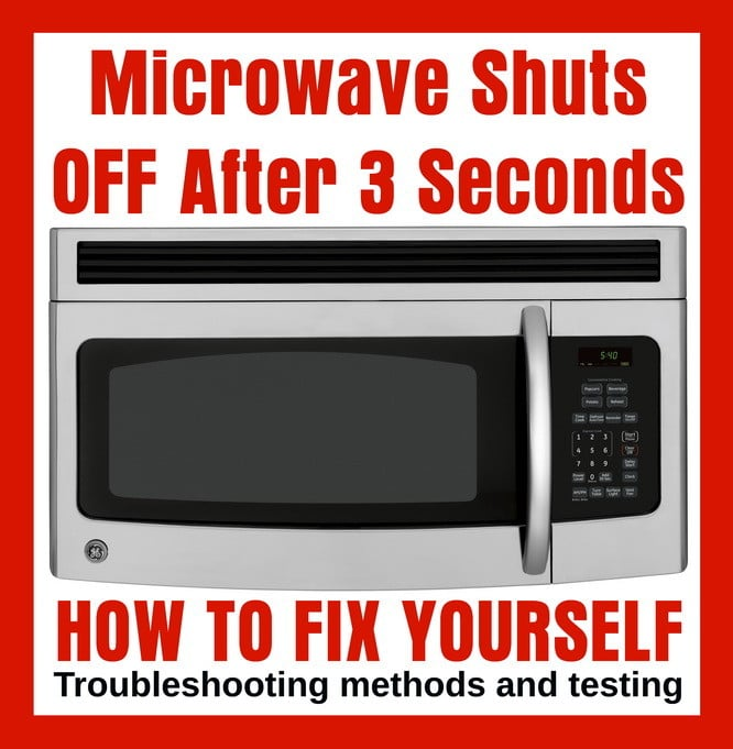 Microwave Oven Shuts Off After 2 Or 3 Seconds - How To Fix on kitchenaid dishwasher replacement panel, samsung microwave control panel, ge microwave control panel, oven control panel, sub-zero refrigerator control panel, kenmore microwave control panel, asko dishwasher control panel, sharp microwave control panel,