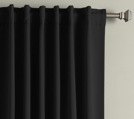 Noise Blocking Thermal Insulated Blackout Curtains