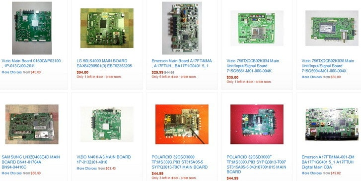 main boards for tv